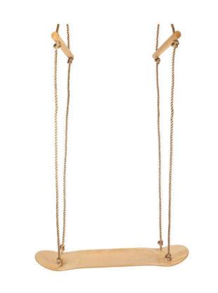 Dřevěná závěsná houpačka pro děti
