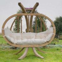 Luxusní houpací zahradní křeslo