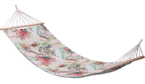 Látkové závěsné houpací lehátko Tropical 200 x 80 cm